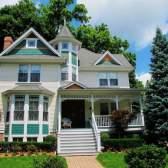 Как нарисовать дом и дерево