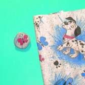 Как обтянуть пуговицу тканью