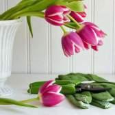 Как срезать цветы