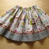 Как удлинить юбку