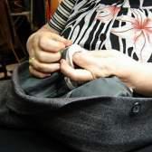 Как зашивать одежду