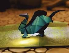Как делать дракона оригами