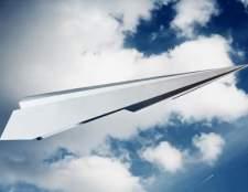 Как делать самолет из бумаги