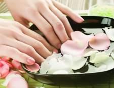 Как делать ванночки для натуральных ногтей