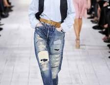 Как пришить заплатку к джинсам