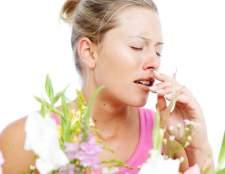 Какие симптомы аллергии существуют