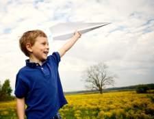 Как делать самолетики из бумаги