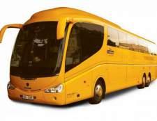 В какой части автобуса дальнего следования пассажиру безопаснее